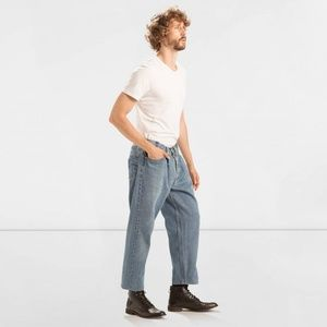 Levi's Altered Vintage 501 Pleated Denim Jeans Men